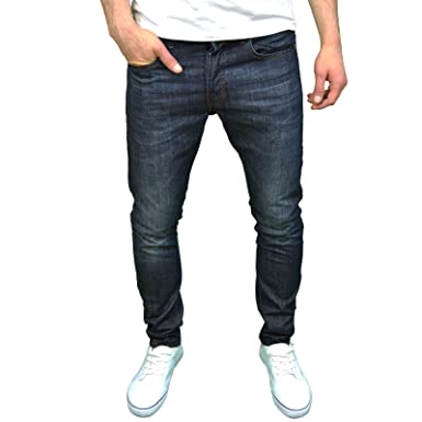 ae8333455b Smith & Jones Mens Designer Slim Fit Jeans, Darkwash/Rinse (30W x 34L