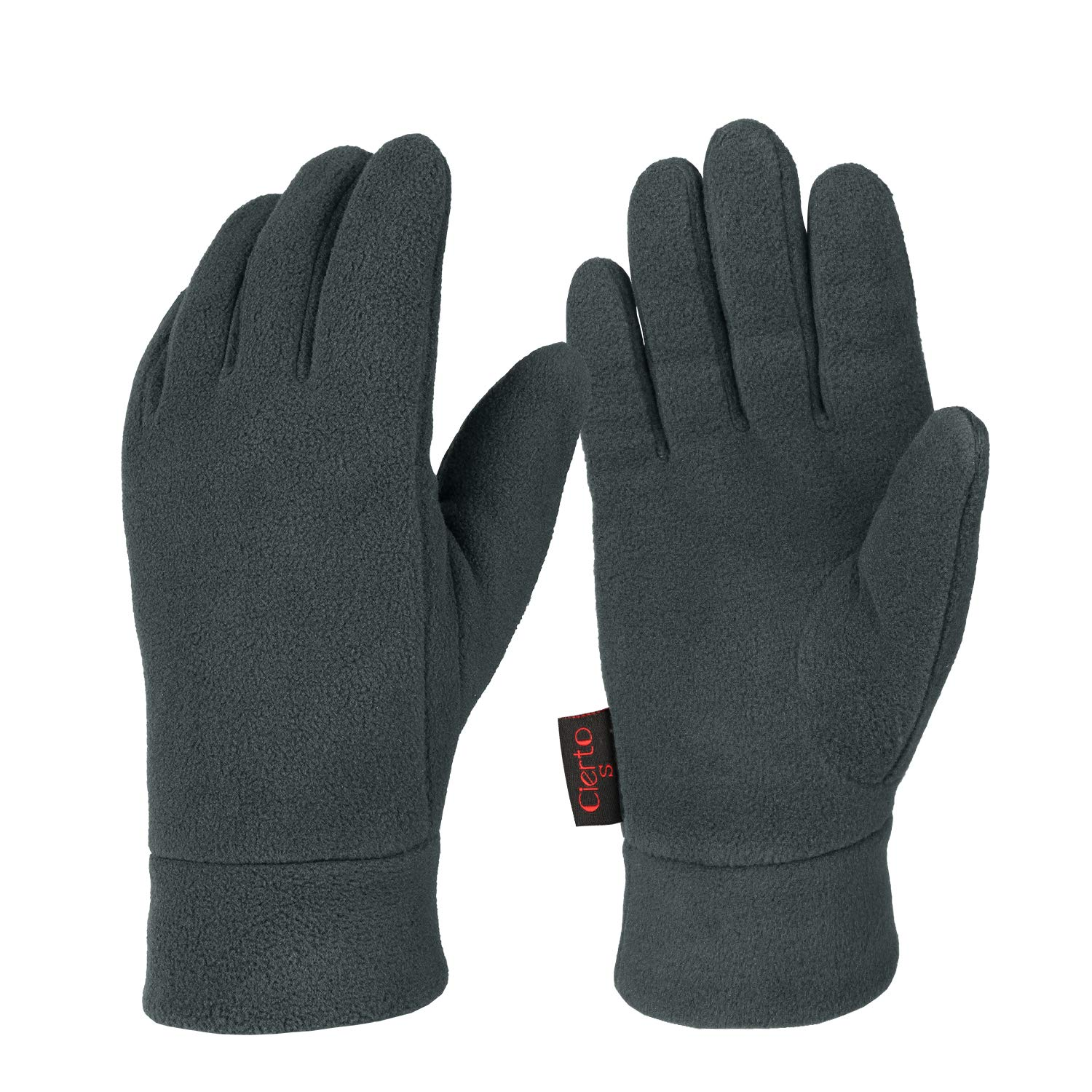 98f1528352 Winter Gloves For Men And Women Hand Protection Polar Fleece And Cotton  Lining