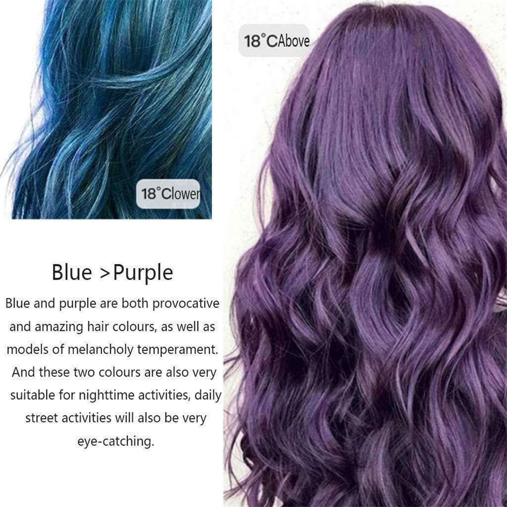 Temperatura Cambio de color Tinte para el cabello, Extracto ...