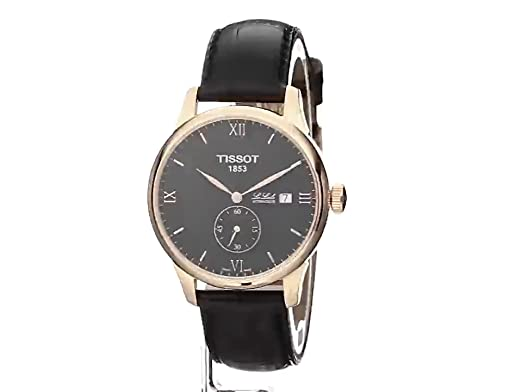 fa7329d75 Amazon.com: Tissot Men's T0064283605801 Le Locle Analog Display Swiss  Automatic Black Watch: Watches