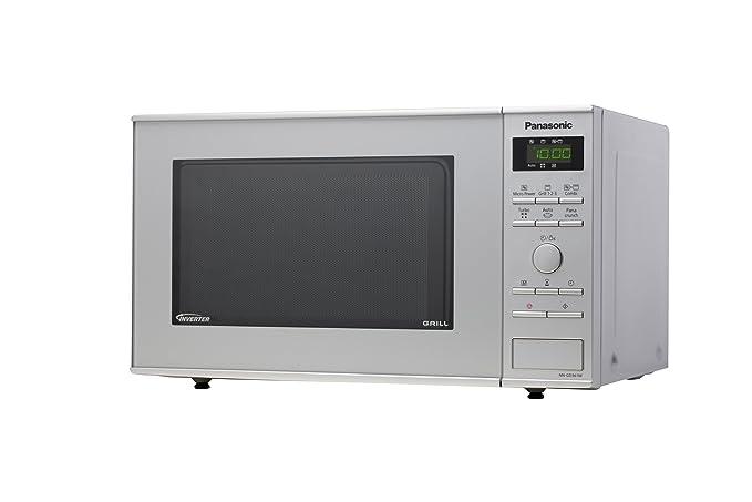 Panasonic NN-GD361MEPG - Microondas (950W, 23 litros), color ...