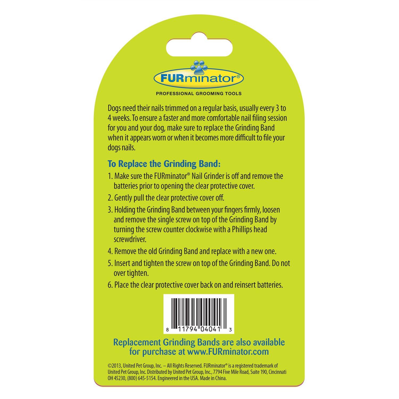 Amazon.com : Furminator Nail Grinder Replacement Bands, 6-Count ...