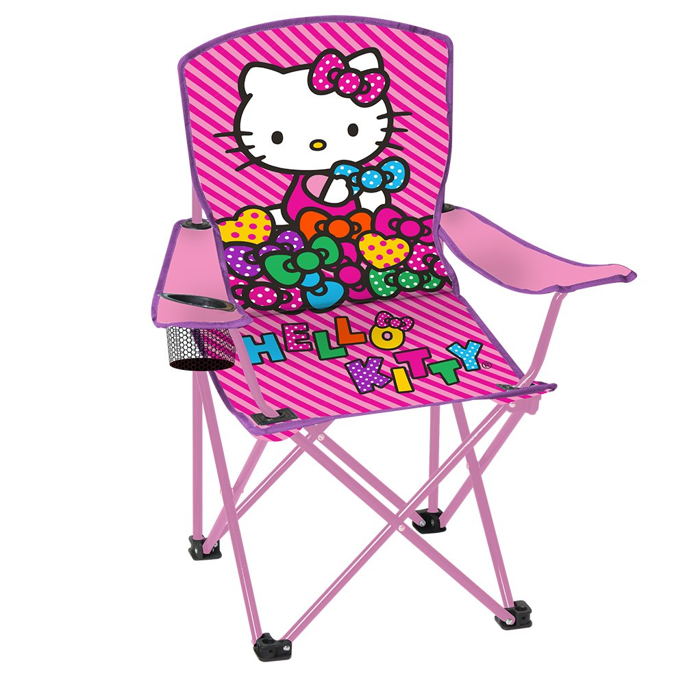 Hello kitty chair - Amazon Com Hello Kitty Child S Folding Chair With Cup Holder Sports Outdoors