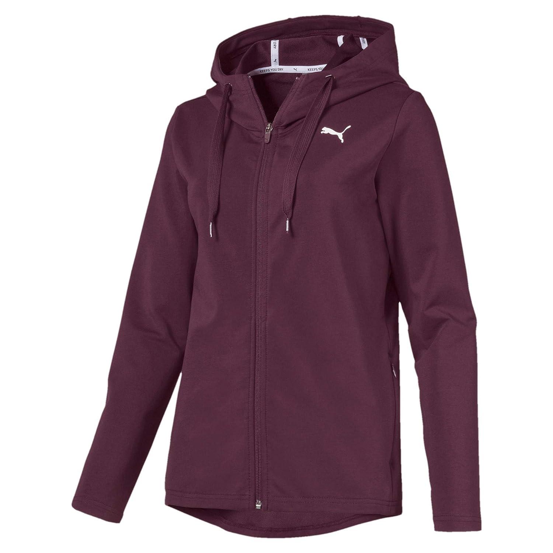 TALLA XS. Puma Modern Sport FZ Logo Hoody Sweatshirt, Mujer