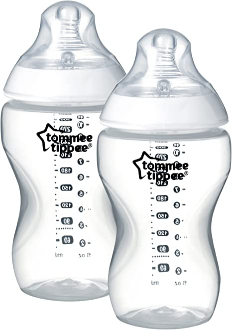 Tommee Tippee Closer to Nature - Biberón (340 ml) , Pack de 2: Amazon.es: Bebé