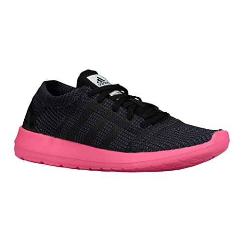 9f6a353c5d2fc2 Adidas Women s Element Refine Tricot Running Shoes B35528 Black Soft Pink White  Size 6.5 B  Amazon.ca  Shoes   Handbags