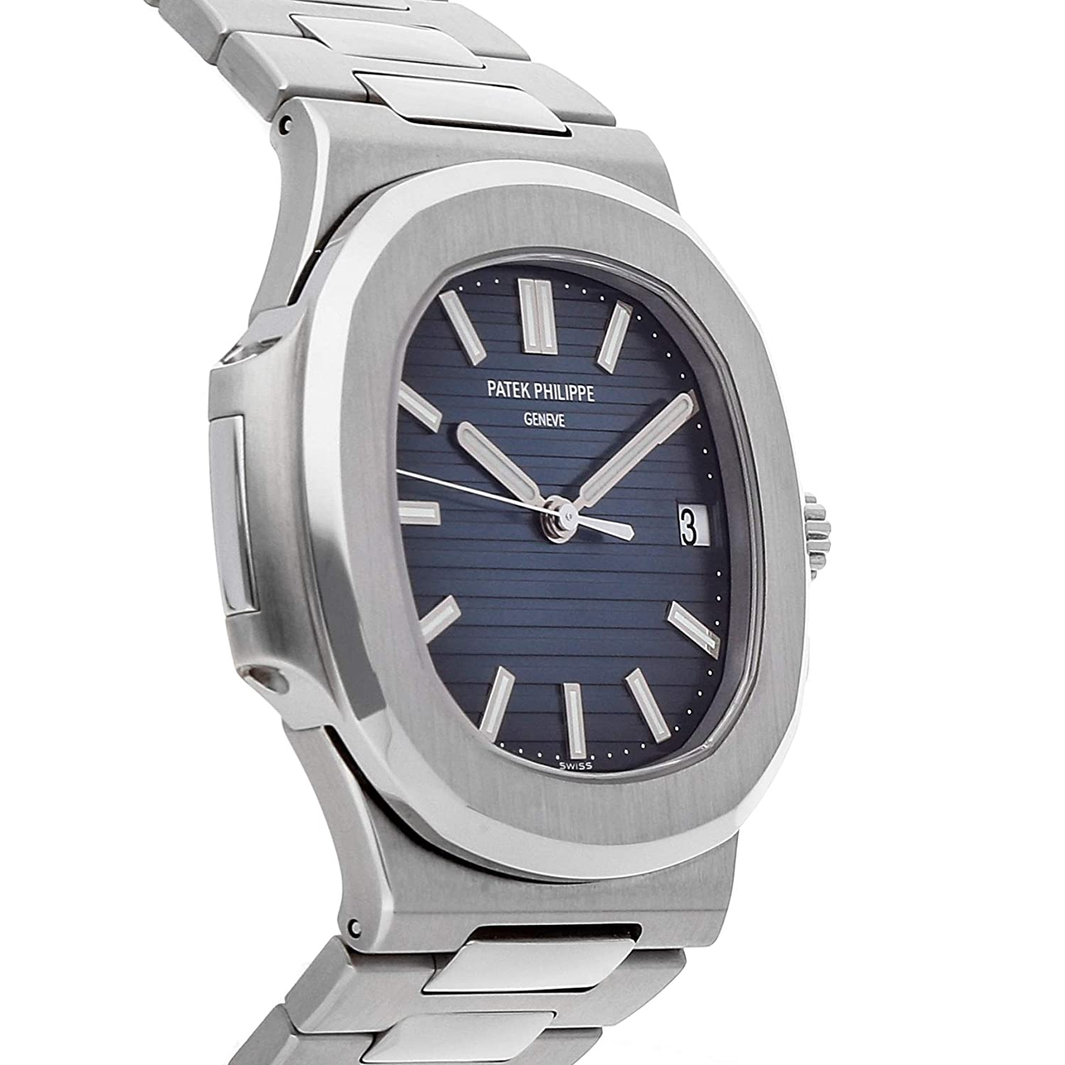 d168e4893a1 Amazon.com: Patek Philippe Nautilus Mechanical (Automatic) Black Dial Mens  Watch 5711/1A-010 (Certified Pre-Owned): Watches