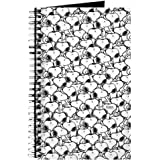 CafePress - Snoopy Pattern - Spiral Bound Journal Notebook, Personal Diary, Lined