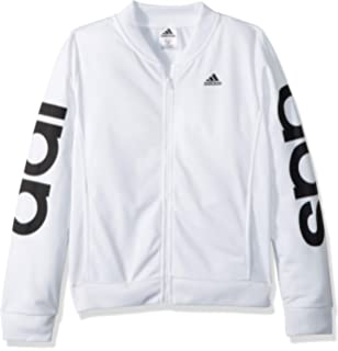 Amazoncom Adidas Girls Track Jacket Clothing