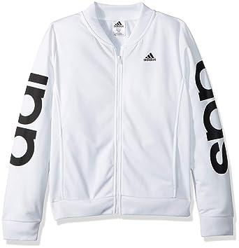071e38ad8fc Amazon.com: adidas Girls' Bomber Jacket: Clothing