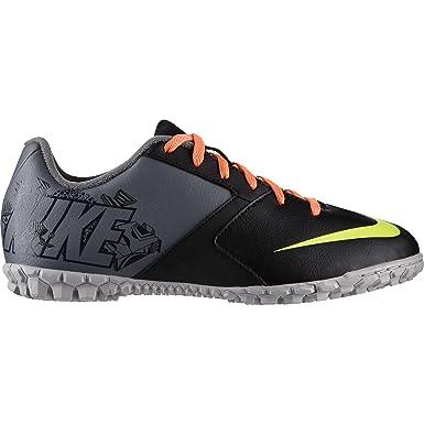 d70657e32e734 Nike Boys Bomba II Running Shoes, Black/Pink/Yellow, 3 UK: Amazon.co ...
