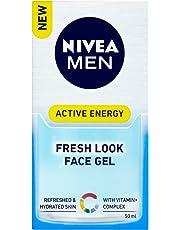 NIVEA MEN Active Energy Fresh Look Moisturising Face Gel, 50ml