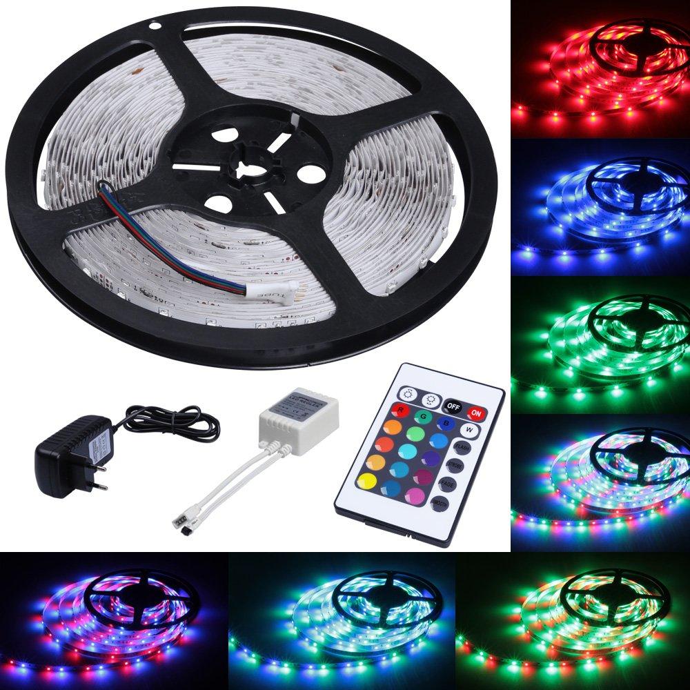 Frisch LED Strip Licht Streifen 5m Band Leiste mit 300 LEDs (SMD 3528  IF45