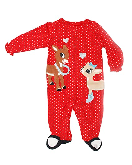 3869ed4d26 Amazon.com  Rudolph The Red Nose Reindeer 1-pc Sleep and Play Baby ...