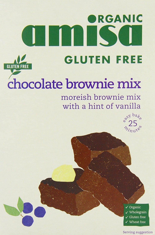 Amisa Organic - Gluten Free Mixes - Chocolate Brownie Mix - 400g
