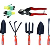Truphe Gardening Tools Set With Heavy Cutter And Safety Gloves (Made In India)