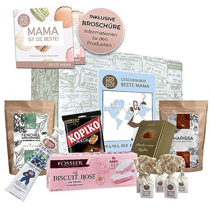 Weihnachtsgeschenke Lebensmittel.Geschenk Set Mama Box Geschenkset Für Mütter Besonderes Geburtstagsgeschenk Muttertagsgeschenk Weihnachtsgeschenk Internationale Produkte