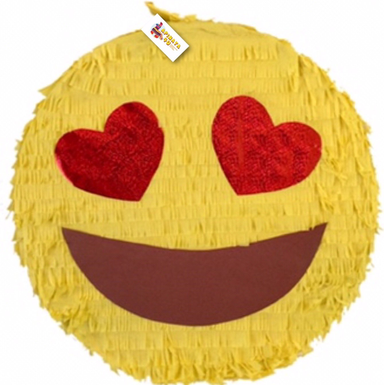 Heart Eyes in love Emoji Pinata