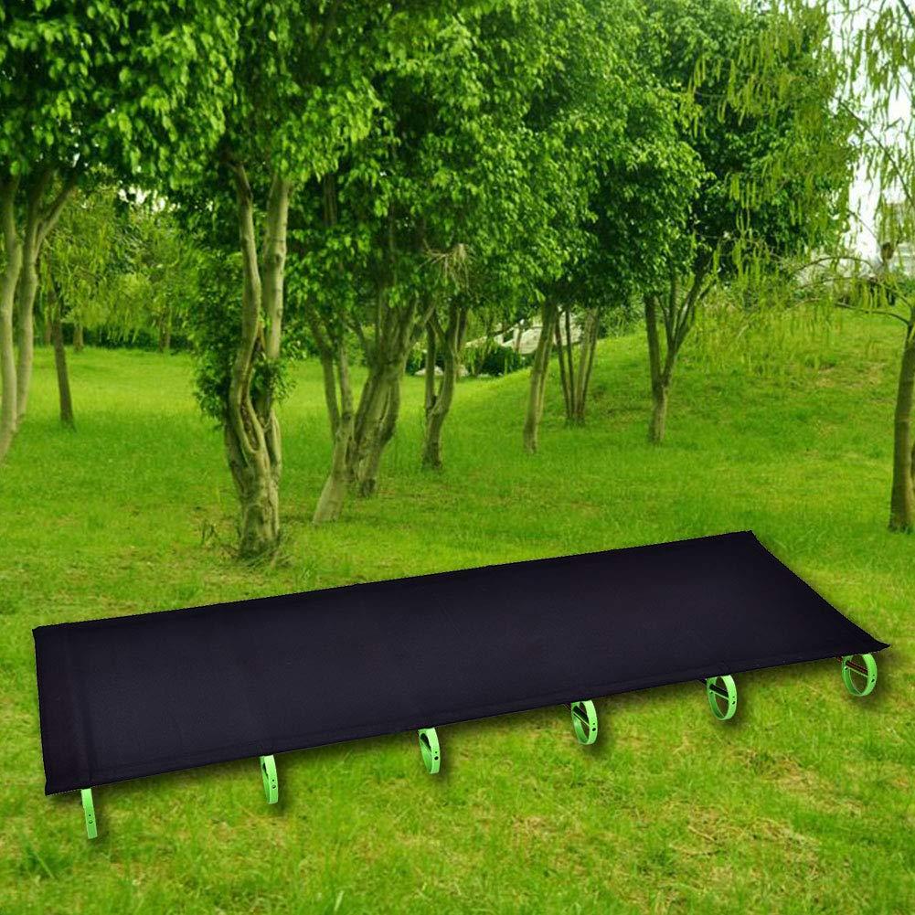 181 x 87 x 12 cm Chasse GOTOTOP Lit de Camping Pliable avec Sac Lit de P/êche Portable Ultral/éger pour Voyage Randonn/ée