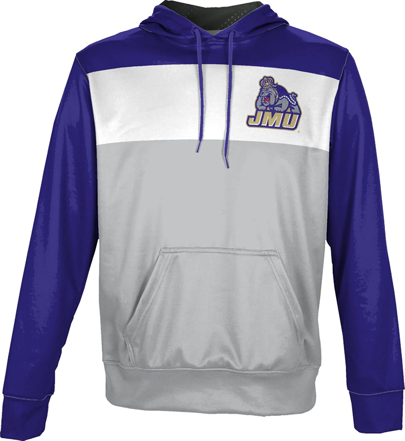 Prime James Madison University Foundation Mens Pullover Hoodie School Spirit Sweatshirt