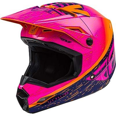 Fly Racing 2020 Youth Kinetic Helmet - K120 (Large) (Orange/Pink/Black): Automotive