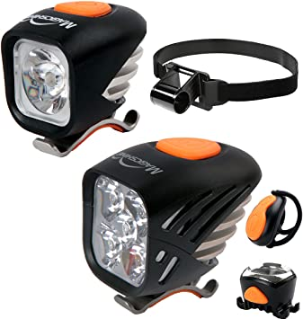 Magicshine Extreme MTB Enduro luces LED para bicicleta, combo de ...