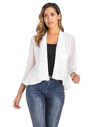 Veste blanche femme blazer