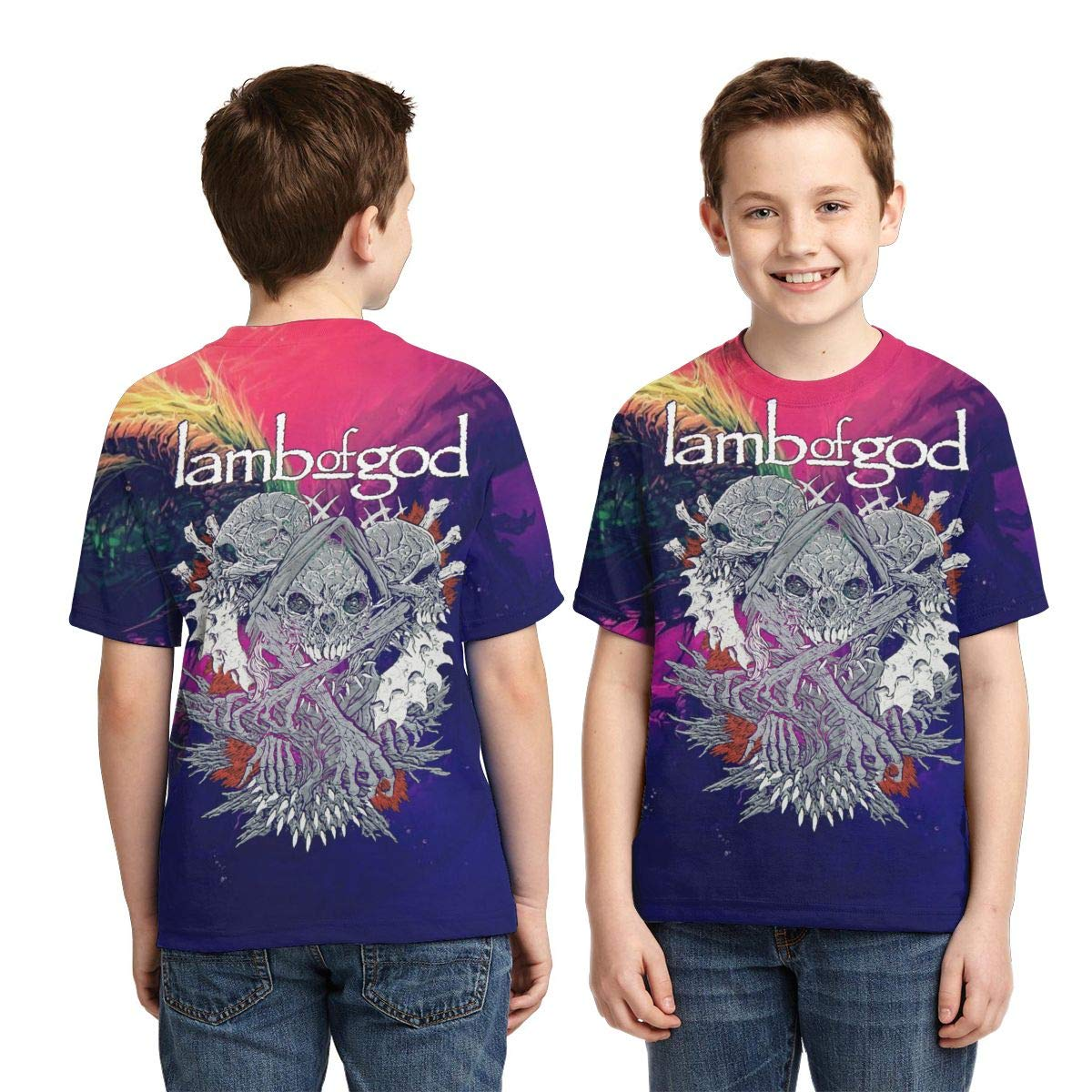 Design By Humans Naaarwhal Boys Youth Graphic T Shirt