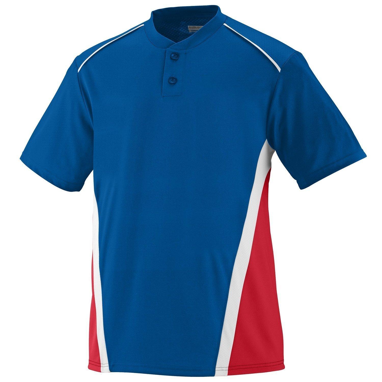 Augusta SportswearメンズRBI野球ジャージー B00E1YTKHU XX-Large|ロイヤル/レッド/ホワイト ロイヤル/レッド/ホワイト XX-Large