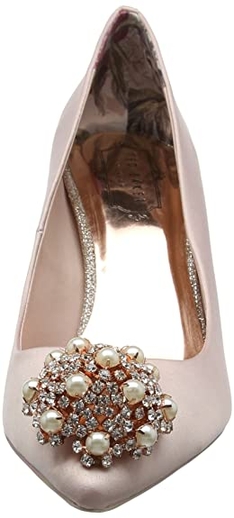 6bffe529c793 Ted Baker Women Dahrlin Closed Toe Ballet Flats  Amazon.co.uk  Shoes   Bags
