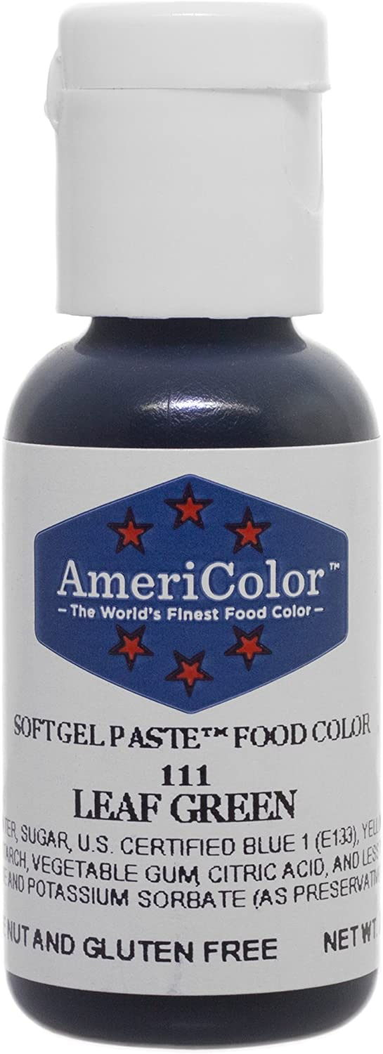 Americolor Soft Gel Paste Food Color.75-Ounce, Leaf Green