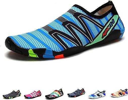 Mens Quick Dry Beach Water Shoes Swim Pool Surf Board Aqua Barefoot Sport Shoes