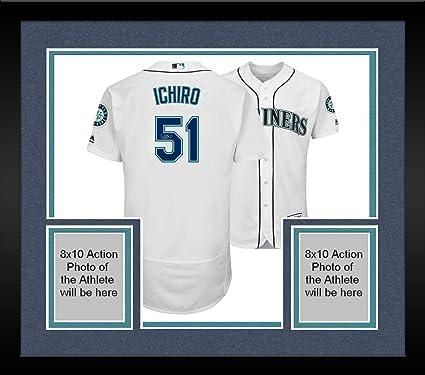 info for c997b 3d421 Framed Ichiro Suzuki Seattle Mariners Autographed Majestic ...