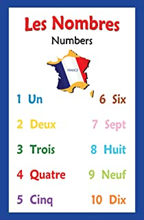 Amazon.com: French Language School Poster - Days of the Week ...