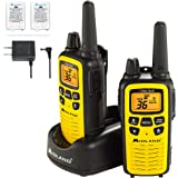 Midland - LXT630VP3, 36 Channel FRS Two-Way Radio - Up to 30 Mile Range Walkie Talkie, 121 Privacy Codes, & NOAA Weather Scan