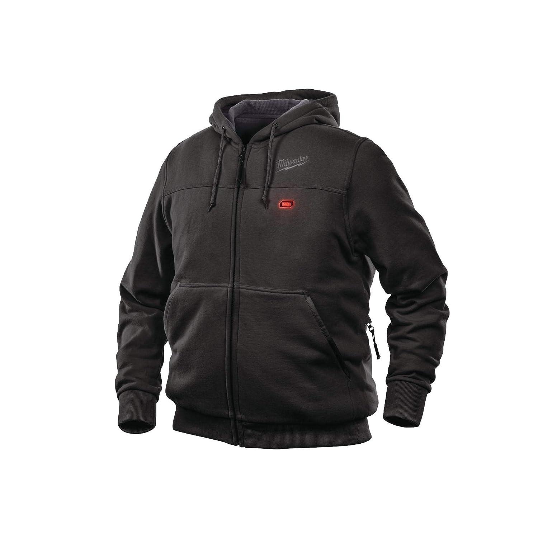 Milwaukee Thermal Sweatshirt Black Size M - Without Battery M12 HHBL3-0 (M)