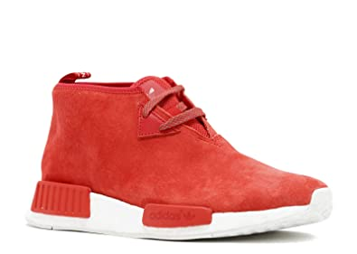 pretty nice 4f00f ca2f3 Amazon.com | adidas NMD C1 - S79147 - Size 9 Red, White ...
