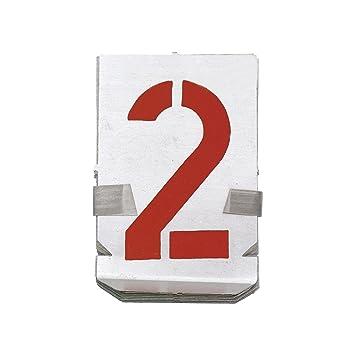 Größe: 60 mm Zahlen 0-9 Signierschablonen