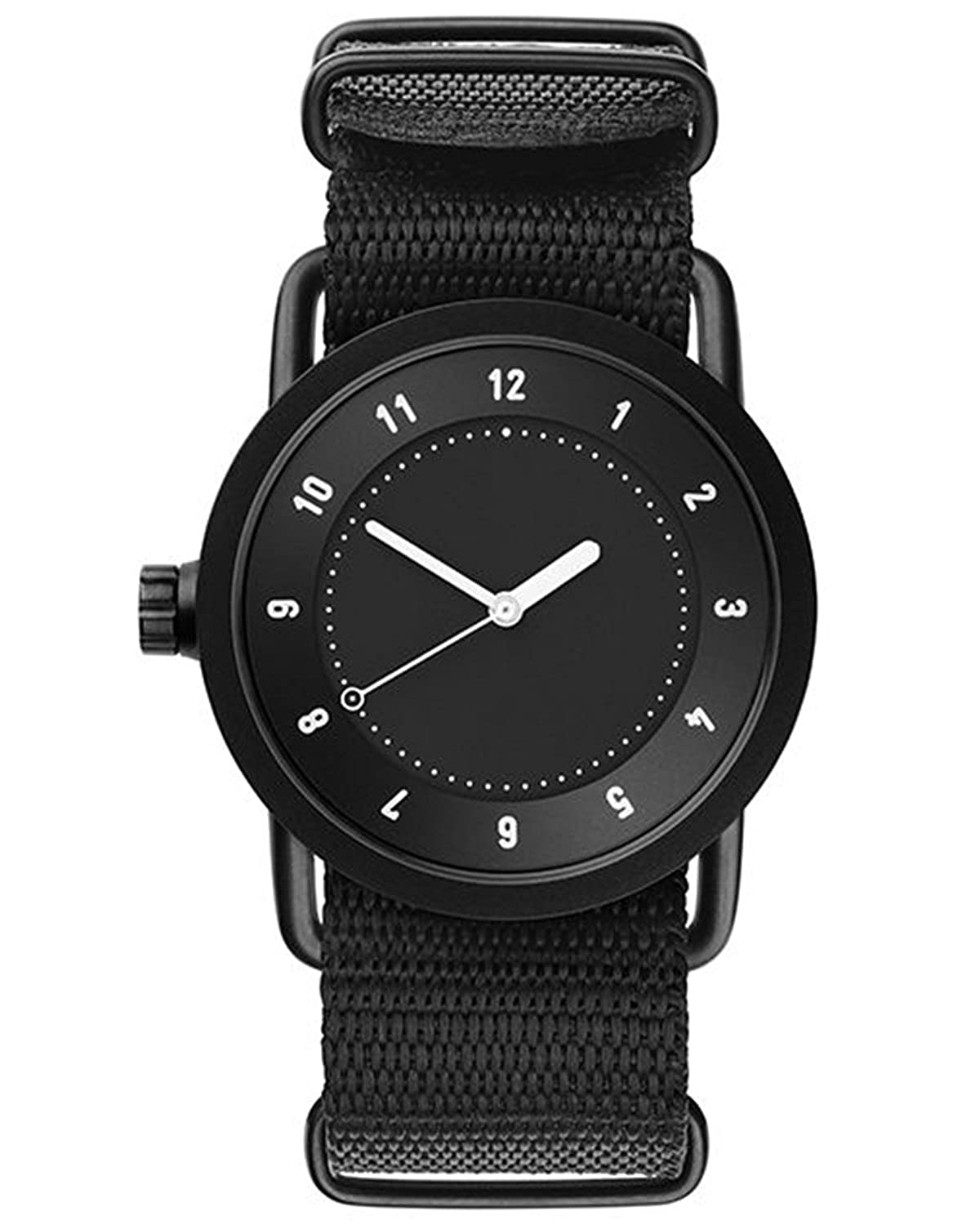 TID No.1 36 Black-Black Nylon horloge 10210121