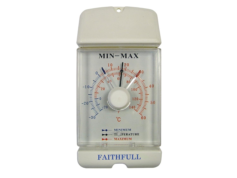 Faithfull THMMDIAL Thermometer Dial Max - Min FAITHMMDIAL