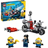 LEGO Minions Unstoppable Bike Chase 75549 Buildable Toy Motorbike Set