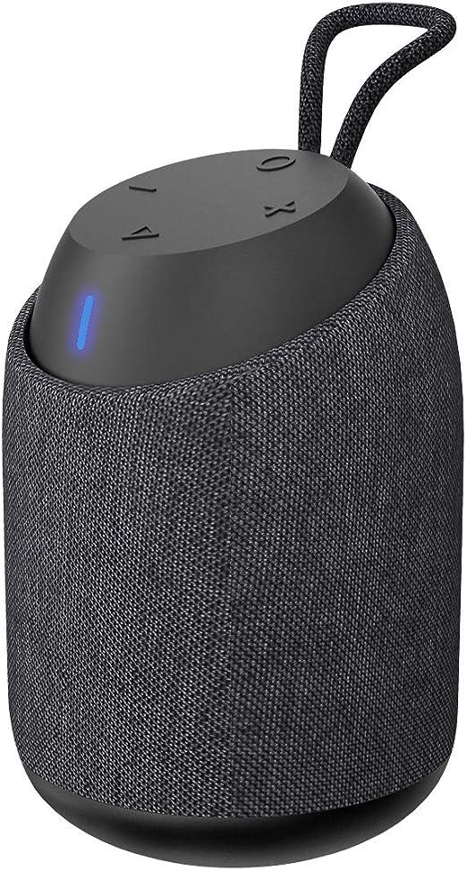 Bugani Mini Tragbar Bluetooth Lautsprecher Bluetooth V4 2 Ipx7 Wasserdicht Draussen Lautsprecher Mit 360 Stereoton Und Rich Bass 15 Stunden Spielzeit Perfekt Für Iphone Samsung Und Mehr Schwarz Audio Hifi