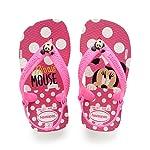 Havaianas Sandálias New Baby Disney Classic, Branco/Rosa Flúor