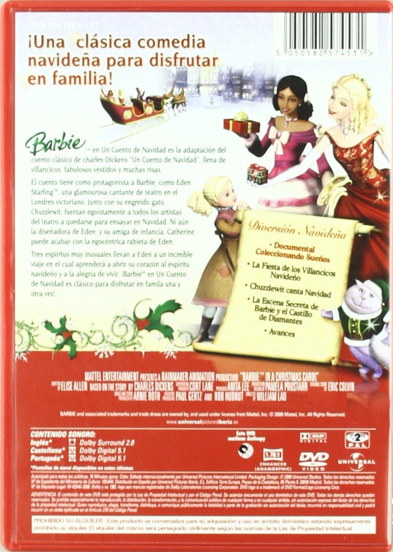 Amazon.com: Barbie En Un Cuento De Navidad (Import Movie) (European Format - Zone 2) (2008) Varios; William Lau: Movies & TV