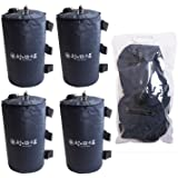 エリッゼ(ELLISSE) マルチウェイト(ウェイトバッグ)10L 4個セット バンドテープ付 持ち運びに便利なバッグ付 ワンタッチタープの重しに最適!