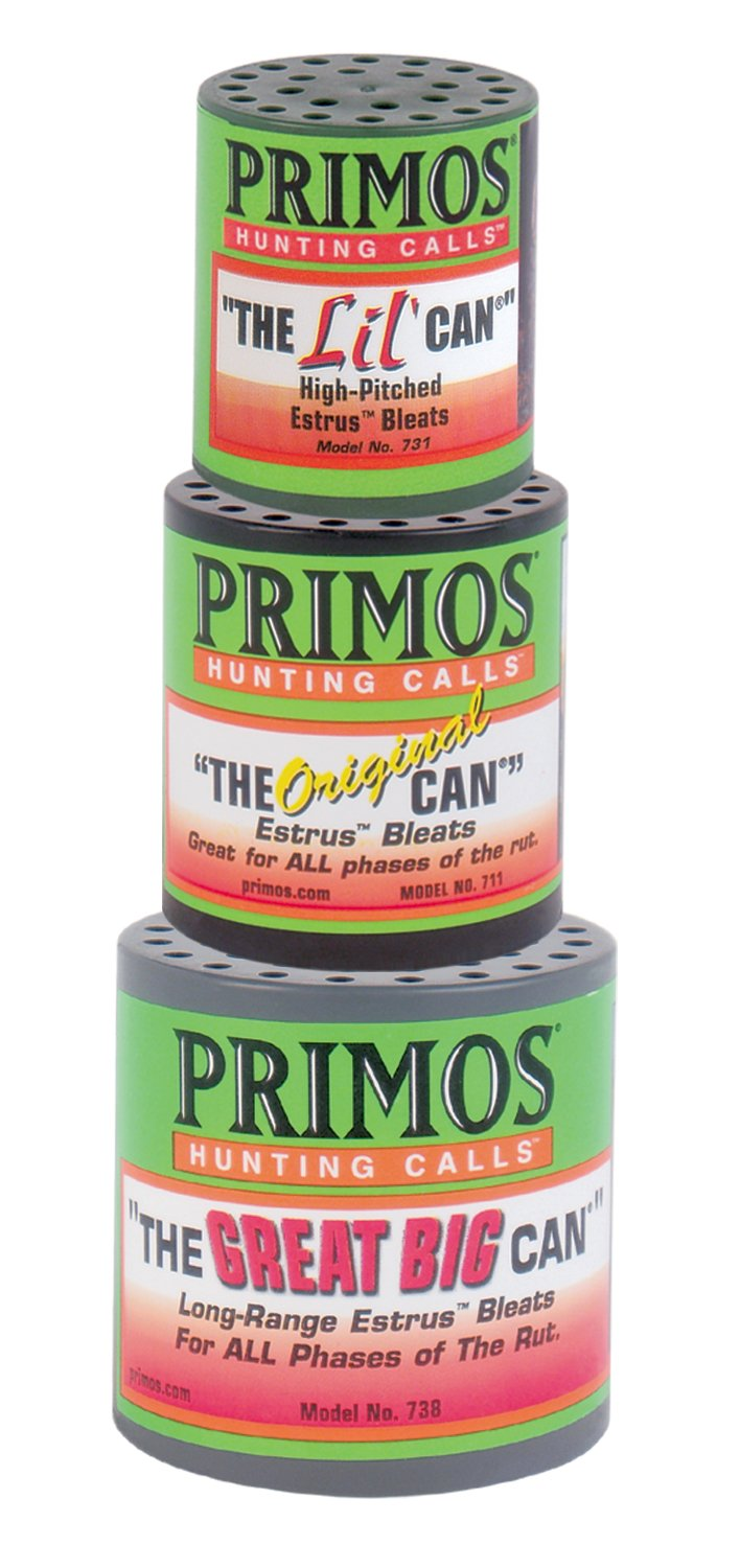 Primos Hunting 713 Deer Call, The Can Family Pack by Primos Hunting