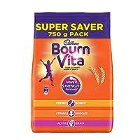 Cadbury Bournvita Chocolate Health Drink, 750 gm Refill Pack