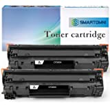 S SMARTOMNI Compatible Toner Cartridge Replacement for HP CF283X 83X (High Yeild,2 Pack), for use with HP Laserjet pro M201dw