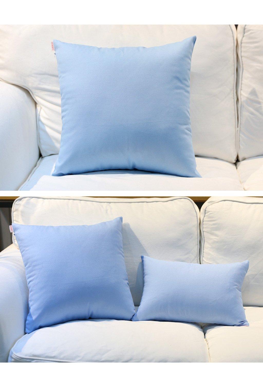 Almohada Pure Color Establece Con Core cojines del sofá ...