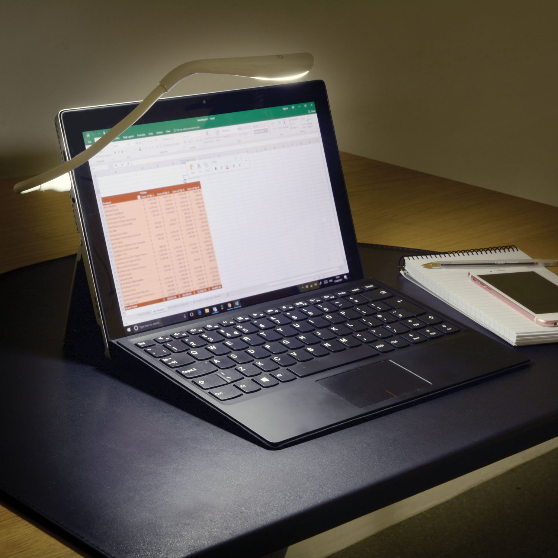 MPE Flexible USB 14 LED lámpara linterna para ordenador portátil ...